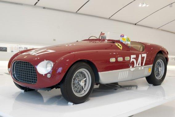 FERRARI 340MM 1953 (Collezione Camellini) - Cette Ferrari 340 s'est illustrée en remportant les Mille Miglia en 1953. Elle appartient à la même famille depuis 1964. (Photo fournie par le Musée Casa Enzo Ferrari)