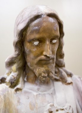 Statue fabriquée par Giovanni Filippelli (Photo: Alain Roberge, La presse)