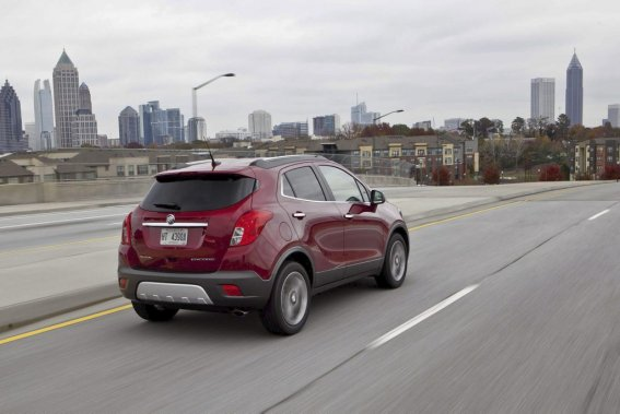 Le Buick Encore 2013. (Photo f