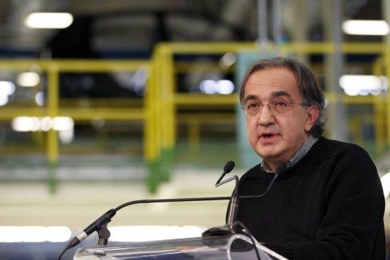 Le patron du groupe Fiat-Chrysler, l'italo-canadien Sergio Marchionne.