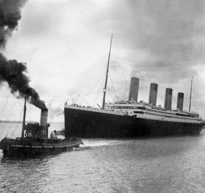 Les cinq «bloopers» (comme dans oups!) : Le Titanic. S'ils avaient su, ils seraient pas venus... (Photo: AFP)