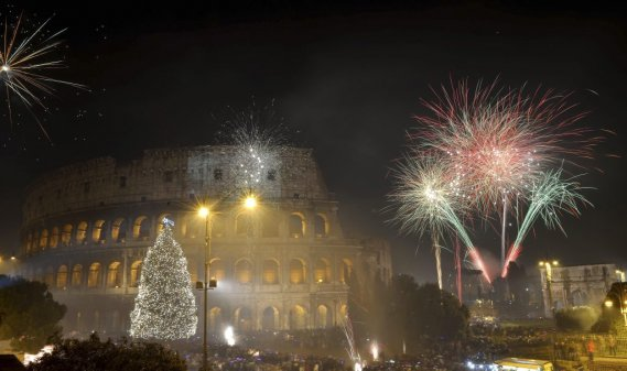 Rome, Italie (PHOTO VINCENZO PINTO, AFP)