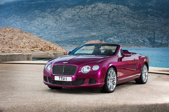 La Bentley Continental GTC V8.