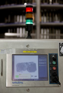 Passage aux rayons X. (Photo Ivanoh Demers, La Presse)