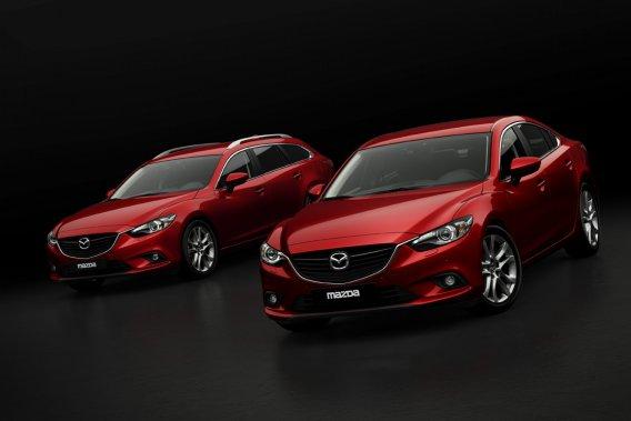 La nouvelle Mazda 6 est l'une des quatre voitures encore en lice pour le titre de