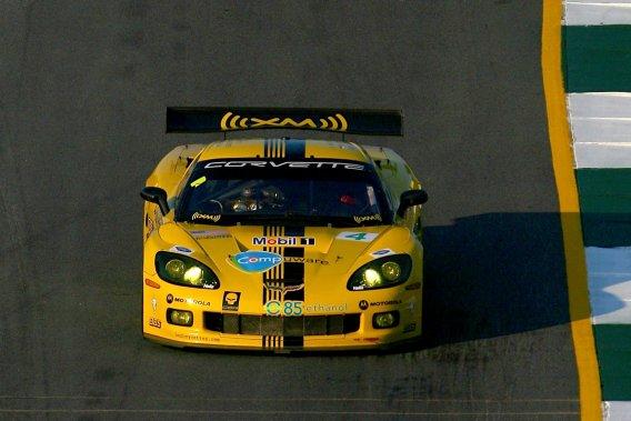 La Corvette C6.R GT1.
