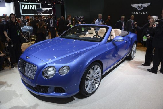 La Bentley Continental GT Speed Convertible