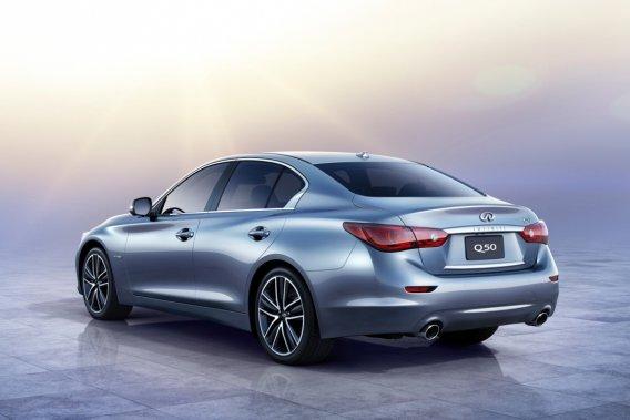 La Q50 remplacera dans six mois la G37, une voiture que peu de monde regrettera.