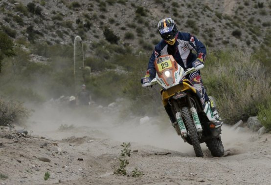 Kurt Caselli a remporté une deuxième épreuve au Dakar-2013.