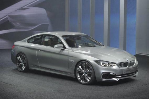 La BMW Serie 4 Concept a été dévoilée en première mondiale au Salon de Detroit, la semaine dernière.