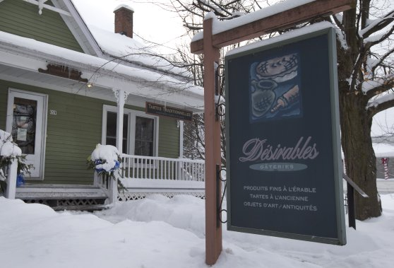 Le restaurant Désirables Gâteries. (Photo: Robert Skinner, La Presse)