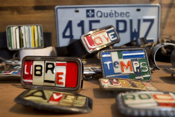 La boutique Bibop et Loula. (Photo: Robert Skinner, La Presse)