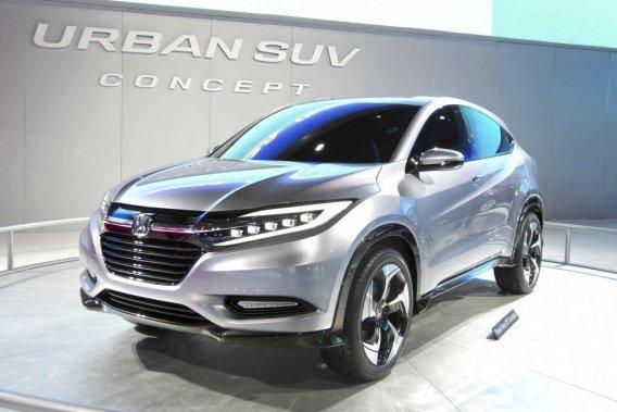 Le Honda Urban SUV Concept, présenté en primeur au Salon de Detroit.