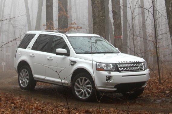 Après 21 jours d'une température trop clémente, le Land Rover LR2 a finalement pu affronter des conditions climatiques à la hauteur de ses capacités.