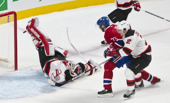 Erik Cole à l'attaque. (Photo Hugo-Sebastien AUBERT, La Presse)