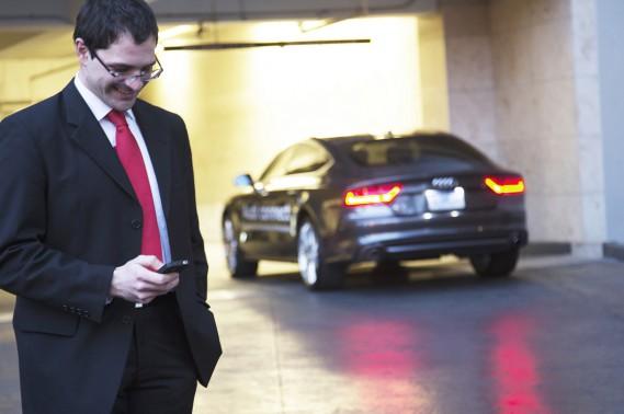 Audi a reçu  le prix Product of the Future du réputé magazine <em>Popular Science</em> pour son système de stationnement  autonome.