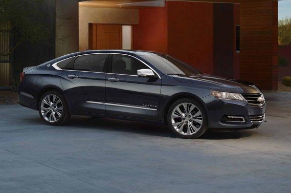 La dixième génération de la Chevrolet Impala offre trois choix de moteurs.