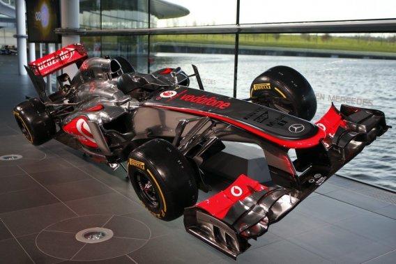 La nouvelle McLaren MP4-28 a été dévoilée jeudi au Centre de technologie du constructeur britannique, à Woking, en Angleterre.