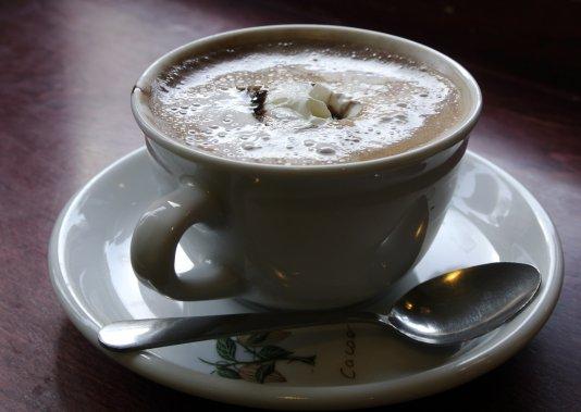 Chocolat chaud de chez Érico. (Bernard Brault, La Presse)