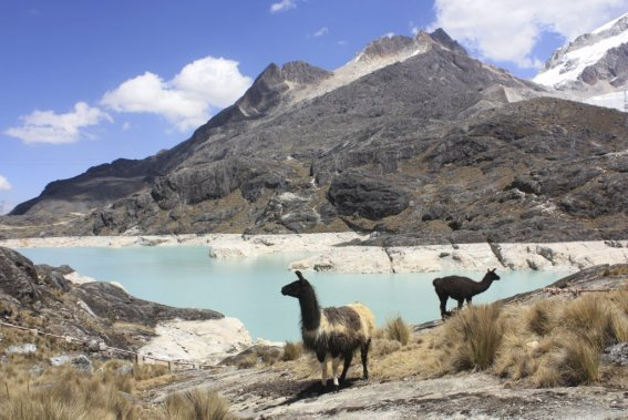 Paysage des environs de La Paz. (Photo Sylvain Sarrazin, La Presse.)