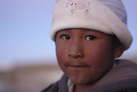 Un jeune habitant de la région. ()