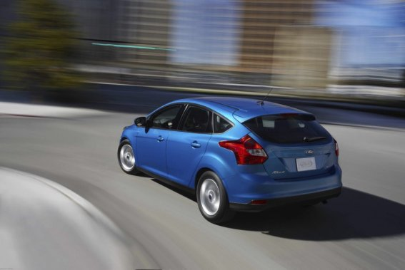 La Ford Focus. (Photo fournie par Ford)