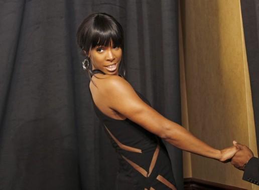 Kelly Rowland, tirée sur scène. (Photo Reuters)