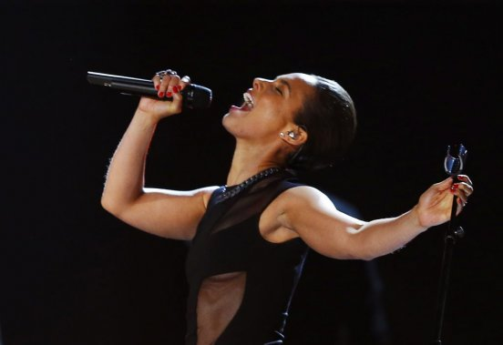 Alicia Keys (Photo Reuters)