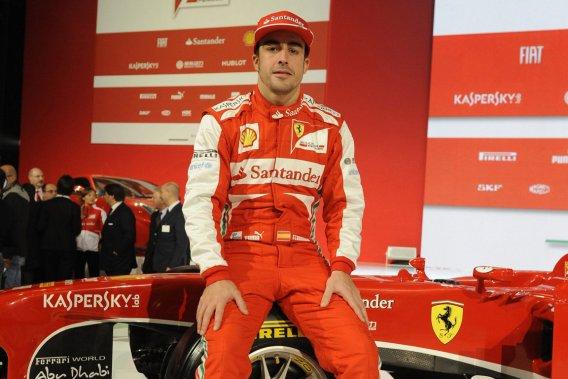 Fernando Alonso, battu de trois points par Sebastian Vettel pour le titre 2012,  avait court-circuité les premiers essais de Jerez, début février.