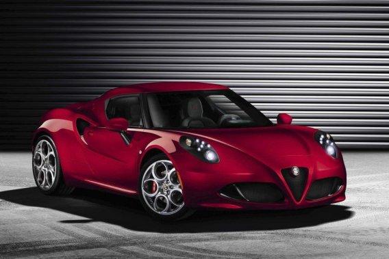 Alfa Romeo reviendra en force en Amérique du Nord après presque 25 ans d'absence en y destinant la 4C.