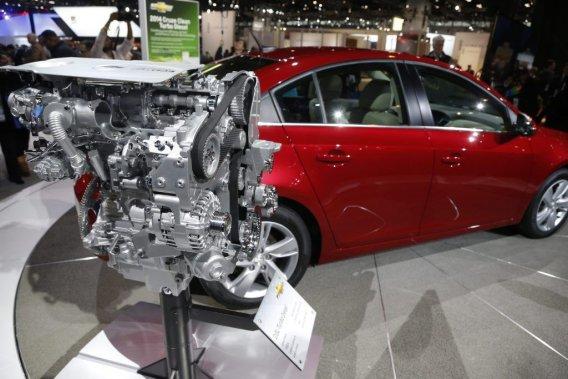 Il sera possible d'acheter la Chevrolet Cruze 2014 avec ce moteur diesel 2.0 litres.