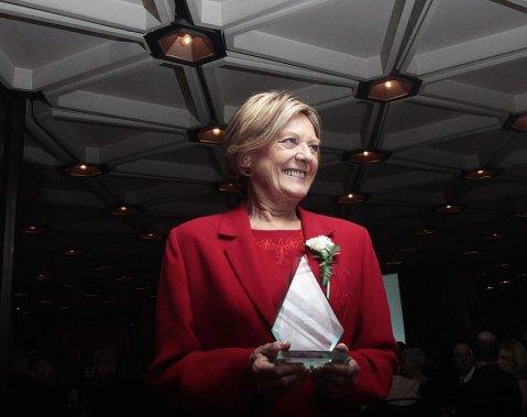 Marlene Catterall, lauréate du laurier de la Francophile de l'année. (Étienne Ranger, LeDroit)