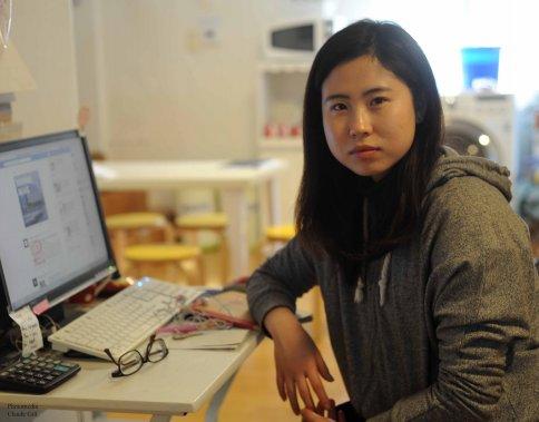 Yuri la jeune ménagère au StayKorea. (Photo: Claude Gill)