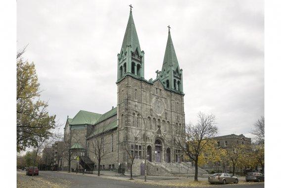 Église Très-Saint-Nom-de-Jésus : 1465, rue Desjardins (Photo: fournie par Héritage Montréal)