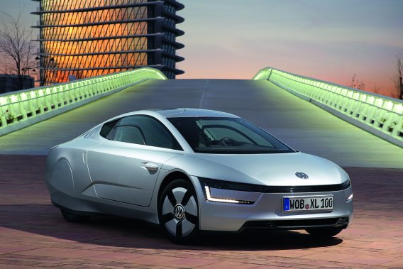 La Volkswagen XL1. (Photo fournie par Volkswagen)