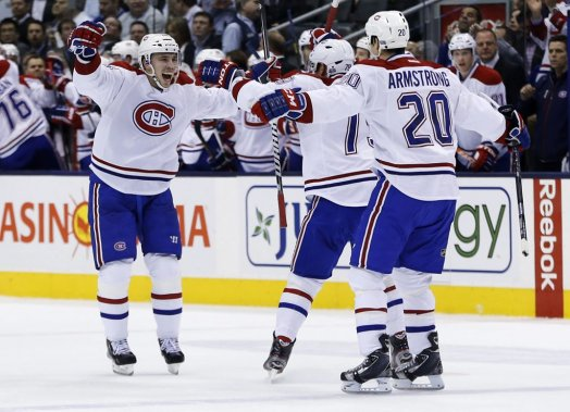 Alexei Emelin célèbre son but. (Reuters)