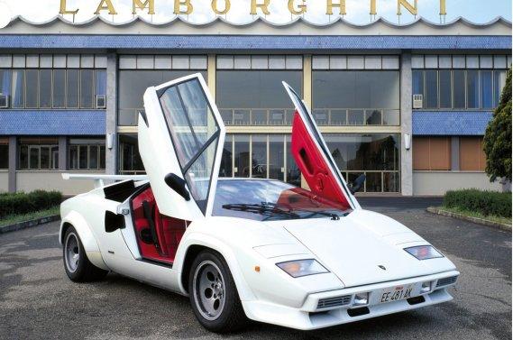La Countach est sans doute le modèle le plus connu de l'histoire de Lamborghini.