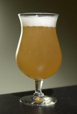 Une bière concoctée par Olivier Bergeron. ()