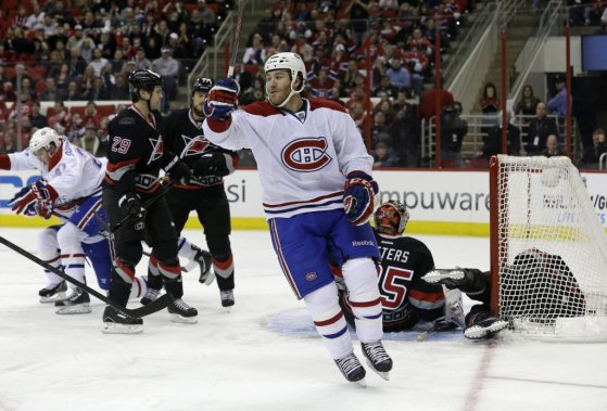 Brandon Prust (Photo Gerry Broome, Associated Press)