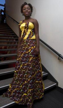 Rachel Mwanza, en nomination comme meilleure actrice dans Rebelle. (PHOTO OLIVIER JEAN, LA PRESSE)