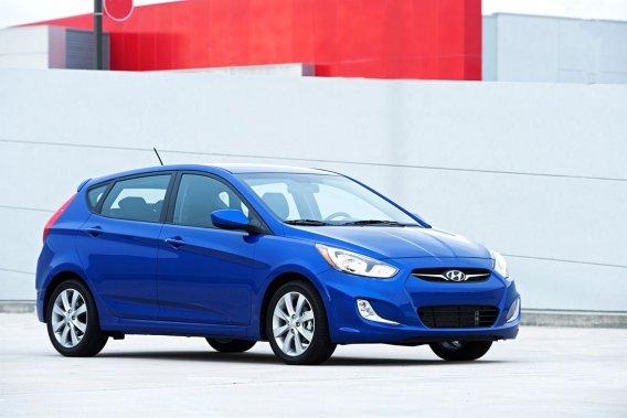 Dans leur numéro vendu en librairie depuis jeudi dernier, l'association et<em>Protégez-Vous</em> conseillent l'achat des Hyundai Accent (photo), Kia Rio et Honda Fit (sous-compactes).