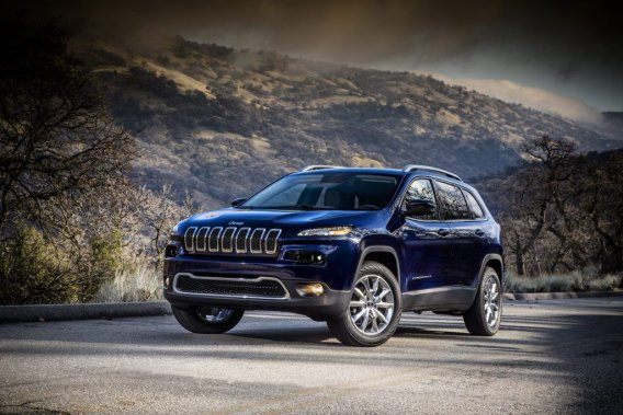 Le Jeep Cherokee Limited 2014.