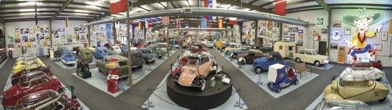 La ville de Madison, en Géorgie, accueillait jusqu'à tout récemment le plus important musée de micro-voitures au monde. (Photo fournie par RM Auctions)