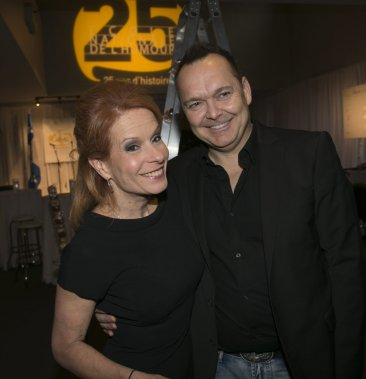Louise Richer et Jean-Michel Anctil (Photo: André Pichette, La Presse)