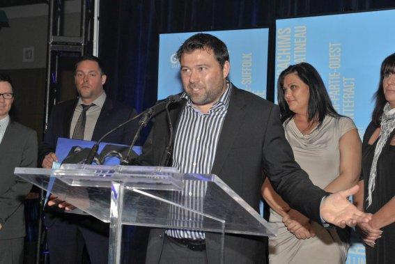Martin Paquette, du Nordik Spa-Nature, a remporté le prix de la Personnalité de l'année. (Martin Roy, LeDroit)