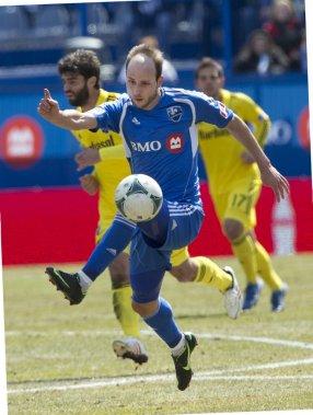 Justin Mapp a participé à de nombreuses actions offensives. (PHOTO ROBERT SKINNER, LA PRESSE)