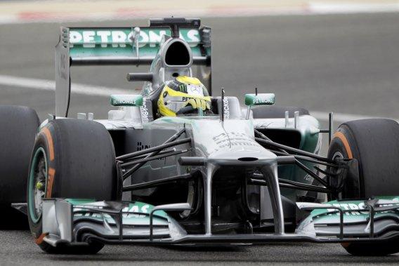 Nico Rosberg a enregistré sa deuxième pole en carrière et son meilleur résultat en qualifications jusqu'ici cette saison.