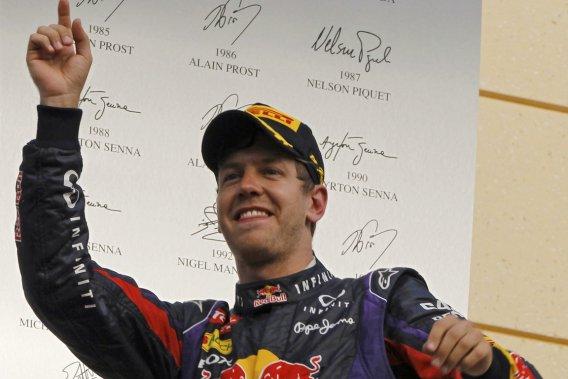 Sebastian Vettel a dorénavant 30 points d'avance sur Fernando Alonso.