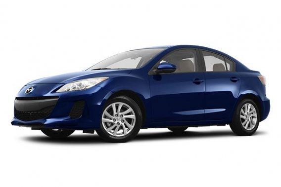 La Mazda 3 actuelle.