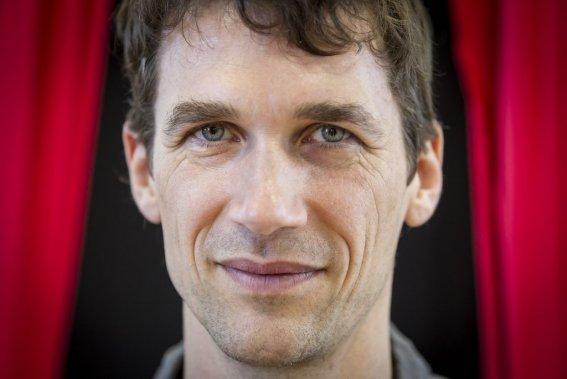 Mirko Trierenberg, metteur en scène du spectacle (Photo Olivier Pontbriand, La Presse)